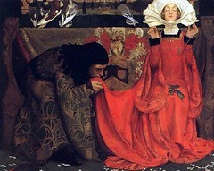 Eleanor Fortescue Brickdale – The Pale Complexion of True Love 1899 (artshers) Tags: art artist eleanorfortescuebrickdale female herstory oil painter painting preraphaelite sisterhood thepalecomplexionoftruelove victorian woman xix