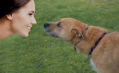 Eye Contact (Scott 97006) Tags: dog human woman cute eyes contact