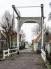 Zuiderwoude 2918: Drawbridge down (mdiepraam) Tags: zuiderwoude 2018 waterland village houses drawbridge trees