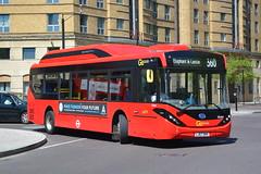 LJ67 DKK (SEe64) Go-Ahead London Central (hotspur_star) Tags: londontransport londonbuses london buses 20182 londonbus londonbuses2018 electricbus alexanderdennisltd byd tfl transportforlondon goaheadlondoncentral lj67dkk see64 360 busscene2018 singledeck