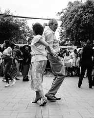 Sundays in Mexico is for salsa (Frederik Trovatten) Tags: bnw blackandwhite mexico mexicocity dancing dance dancers dancer old people salsa streetphotography street streets streetportrait portrait portraits