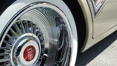 Clean lines (Francoise100) Tags: buick caballero 1957 car automobile detail tire wheel wheelcap enjoliveur roue wagen classic