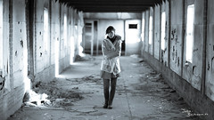 Closed (Urbex) (John Beckmann) Tags: raincoat rainjacket jacket colourful old stonefactory steenfabriek netherlands slovak girl retro instagram dirt dirty sony gmaster abandoned factory abandonedfactory urbex urbexing lost places portraits eoshe urbexphotography