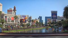 Las Vegas (dorameulman) Tags: dorameulman lasvegas nevada streetscape cityscape color haiku canon7dmark11 canon city sky architecture