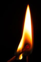 Metaphor (Alexey Mikheykin) Tags: dark contrast minimalism d3300 nikon object burn fire match flame light spark blaze closeup macro exposure heat metaphor