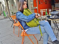 2018-05-09   Paris - Agadir Bar - Hôtel Du Globe - Auberge de jeunesse - 197 Rue Saint Denis (P.K. - Paris) Tags: paris mai 2018 may people candid street café terrasse terrace