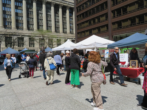 Chicago Farmers Market - First Day 5-10-18