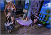 ♥ Ready to go at Beach.... ♥ (ladychrissseyyal) Tags: ♥ ready go beach outfit hypnose darlene pants lace string top hat wedge white necklace noir kali gold collabor 88 tattooredfish toxic redfish decor refuge spring gala table chair purple {what next} provence picnic drinks tray rose locationmultiscene 4 you taxy