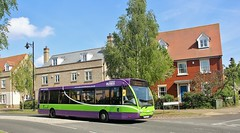YK08 EPV, Ipswich Buses Optare Versa 152, Ravenswood Avenue, 11th. May 2018. (Crewcastrian) Tags: ipswich buses ipswichbuses transport ravenswoodavenue optareversa yk08epv 152