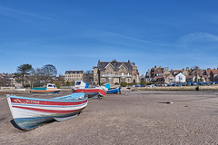 The Bond between man and the Sea (scottprice16) Tags: england northumbria boats riveraln alnmouth tide sand harbour moorings colour spring march 2018 mizpah bond absence emotional sea outdoors travel fuji xt1 18135mm
