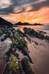Le Cap ... (Ludovic Lagadec) Tags: erquy bretagne brittany breizh beach seascape sea sky sunset coucherdesoleil longexposure ludoviclagadec landscape longueexposition