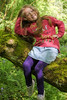 alyssia on branch (grahamdale74) Tags: bluebells 2018 alyssia caitlin chel