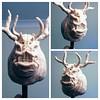 Asylum Demon Sculpture (noisydata) Tags: game videogame dark souls sculpture art artwork monster fanart