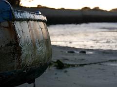 (An Arzhig) Tags: bateau ship blage beach sable sand baie plage sunset roscoff bretagne france panasonic gx800 finistère lumix