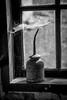 Oilcan (hanschristian_nielsen) Tags: oil tool window cobweb smithy fejø denmark oilcan