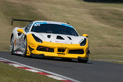 * Ferrari 488 Challenge ({House} Photography) Tags: gt cup championship msvr car automotive brands hatch uk kent fawkham race racing motor motorsport sport canon 70d timothyhouse housephotography gp circuit sigma 150600 contemporary ff corse ferrari 488 challenge italy supercar gt3