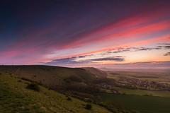 Devil's Dyke - Sussex (E_W_Photo) Tags: devilsdyke southdowns sussex uk sunset clouds hills canon 80d sigma 1020mm leefilters