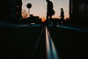 I'm not here. (ewitsoe) Tags: cityscape ewitsoe erikwitsoe sunrise sun tracks tram urban man woman walking silhouette urabnmood atmosphere winter sunrsie poznan poland anxiety pressure commentary nikon