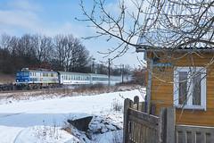 EP07-456 with TLK 31110/1 near Starachowice Michałów (ThanksDrBeeching) Tags: pociąg train zug ep07 tlk pkpic pkpintercity starachowice starachowicemichałów połoniny tlk31110 tlk31111