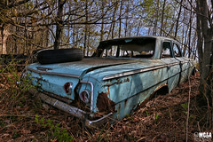 1962 Chevrolet Bel Air (Abandoned Rurex World.) Tags: automobile abandonné abandon hdr 2018 urban urbex rurex mga explored abandoned car lost place old vintage decay derelict ue exploration urbaine canon 1022mm 70d forgotten rusty patin 1962 chevy chevrolet bel air