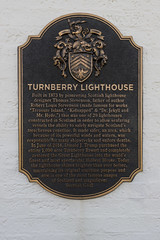 Great Lighthouse (syf22) Tags: pcgb pcgbr2 pcgbscottishregion scotland turnberry ayrshire lighthouse golfcourse halfwayhouse sign badge ident history shield disk plaque plate patch