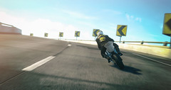 Cornering Exercise (Cartridge Deflector) Tags: thecrew motorcycle ktm rc8 city highway