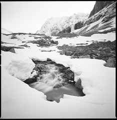 Ben Nevis (Mark Rowell) Tags: bennevis fortwilliam winter scotland hasselblad 903 swc 6x6 120 bw landscape film bigstopper fuji acros