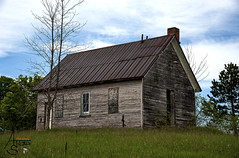 old school house, clare county, MI (ats8110) Tags: oldschoolhouse michigan clare county d700 nikon