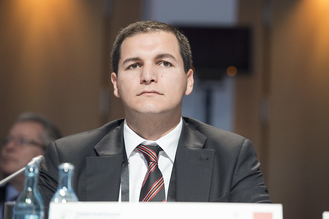 Christopher Cutajar at the Closed Ministerial