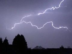 Lightning (Marc Sayce) Tags: lightning bolt strike fork storm four marks hampshire spring april 2018