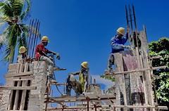 work in progress (louise peters) Tags: stonetown capital hoofdstad town stad city zanzibarcity mjimkongwi urban bouwen bouwvakker build constructionworker zanzibar tanzania afrika africa