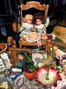 the kingdom of dolls (j.p.yef) Tags: peterfey jpyef yef dolls shopwindow germany glückstadt chair iphone