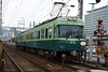 Keihan Railway 616, Otsu (Howard_Pulling) Tags: japan rail railway zug bahn train trains trainsinjapan japanese howardpulling photo picture gare