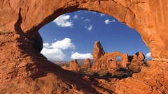 Arches NP - Utah / USA (Udo S) Tags: arches nationalpark rocks felsen syk clouds northwindow turretarch landscape utah usa amerika vacation traveling
