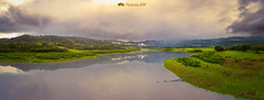 Charco redondo (PictureJem) Tags: lago embalse paisaje agua reflejo lake landscape water