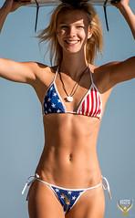 Beautiful Red, White, & Blue Malibu Swimsuit Bikini Model!  American Flag Bikini! Stars & Stripes July 4th American Girl Bikini Model! Pretty Blonde Hair & Blue Eyes! Tall, Thin, Fit, Sexy Abs Surf Girl Beach Goddess!  Birth of Venus! (45SURF Hero's Odyssey Mythology Landscapes & Godde) Tags: black45surfsurfboardwithtrademarkbrandlogoprettyblondeamericanflagbikiniswimsuitmodelhappy4thofjulyred white blueamericanflagbikiniswimsuitstarsstripesred bluesexyhotfitnessabs beautiful fitness bikini swimsuit model pretty long hair malibu surf girl epic beach portrait landscape photography golden ratio compositions abs athletic portraits models sexy hot portraiture dx4dtic venus red blue american flag stars stripes july 4th eyes blonde blond fourth black surfboard trademark logo