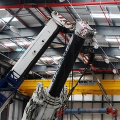 335 of Year 4 - Pair of heavy heads (Hi, I'm Tim Large) Tags: cranes crane lift heavy large big massive 365 335 two pair tandem couple together fuji fujifilm xc xm1 1650mm indoors internal