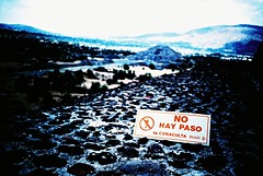 Teotihuacan (cranjam) Tags: lomography lomo lca film expired slide xpro kodak elitechrome100 mexico messico teotihuacan unesco worldheritagesite teotihuacán pyramid piramide valleyofthedead pyramidofthemoon mesoamerican sign cartello nohaypaso ruins rovine