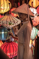 Vietnamiène (Guillaume_BRIAND) Tags: nikon d750 2470 tamron vietnam hoïan hoï an lampions portrait