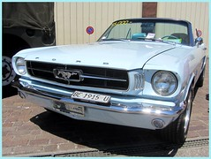 Ford Mustang Convertible, 1965 (v8dub) Tags: ford mustang convertible 1965 cabrio cabriolet schweiz suisse switzerland bleienbach american muscle pkw pony voiture car wagen worldcars auto automobile automotive old oldtimer oldcar klassik classic collector