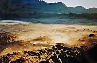 INDONESIEN, Java, Blick auf die  Caldera (Sandmeer) am Bromo-Vulkan, 17435/9994