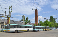 Dep BN - 07.05.2018 (VictorSZi) Tags: romania bucuresti bucharest trolleybus troleibuz transport publictransport ikarus ikarus415t bucurestiinoi spring primavara mai may nikon nikond3100