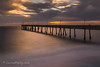 Smoothed Out (Laura Macky) Tags: pacificapier pier sunset longexposure clouds