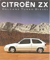 1 (ErenXsara) Tags: citroën zx citroënzx volcane 19turbod turbod volcaneturbod zxvolcane zxturbod citroënzxvolcane brochure catalogue depliant dossier catalog catálogo voiture car coche