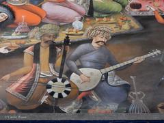 Ispahan Isfahan اصفهان (Fontaines de Rome) Tags: iran ispahan isfahan palais chehel sotoun sotoon pavilion shah abbas ii recevant vali nadr muhammad khan receiving شاه عباس دوم، والی نادر محمد خان چهل ستون اصفهان ایران