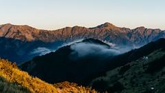 合歡-夕彩 (Eternal-Ray) Tags: sony a9 & fe sonnar t 55mm f18 sunset 合歡山 mountain