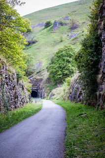 Cressbrook Tunnel on the Monsal Trail-5457