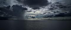 Rain and glow of sun falling in sea (rajanlakule) Tags: sonya7rii sonya7rm2 carlzeiss carlzeisslenses batis2025 batis0225 batis2502 batis2520 andaman
