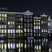 Midnight Canal Reflections