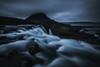 The flow (yan08865) Tags: rock water flow waterfall iceland mood photographers nature solo pavlis kirkjufellsfoss kirkjufell snaefellsnes snaefellsjokull glacier pool grundarfjörður mountain earth longexposure travel